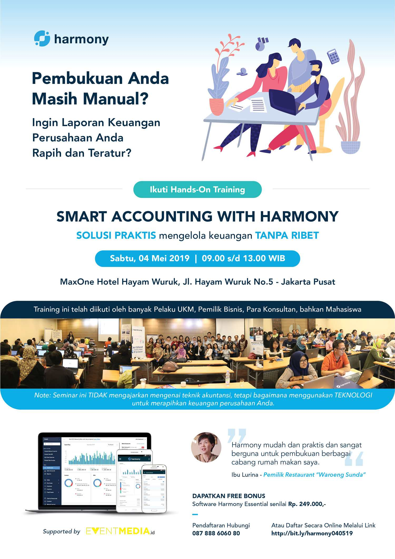 Smart Accounting With Harmony