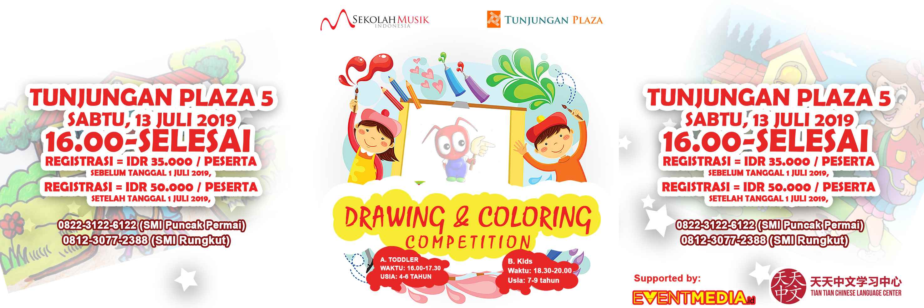 lomba SMI Drawing & Coloring Competition