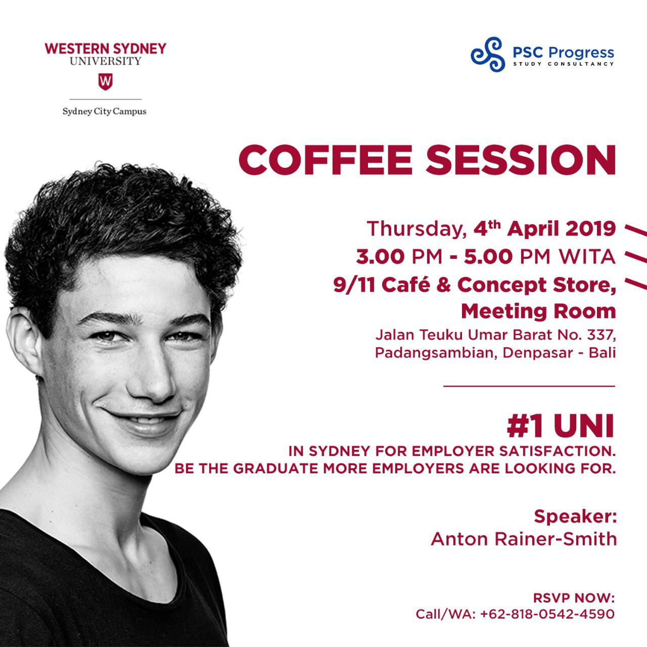 """Coffee Session"" bersama Western Sydney University (WSU) image 1"