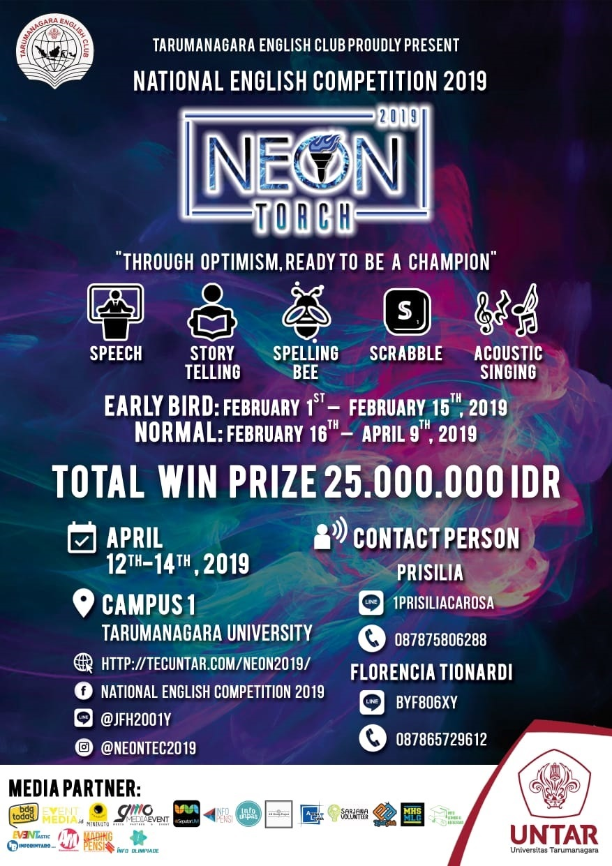 NEON (National English Competition) 2019 image 1