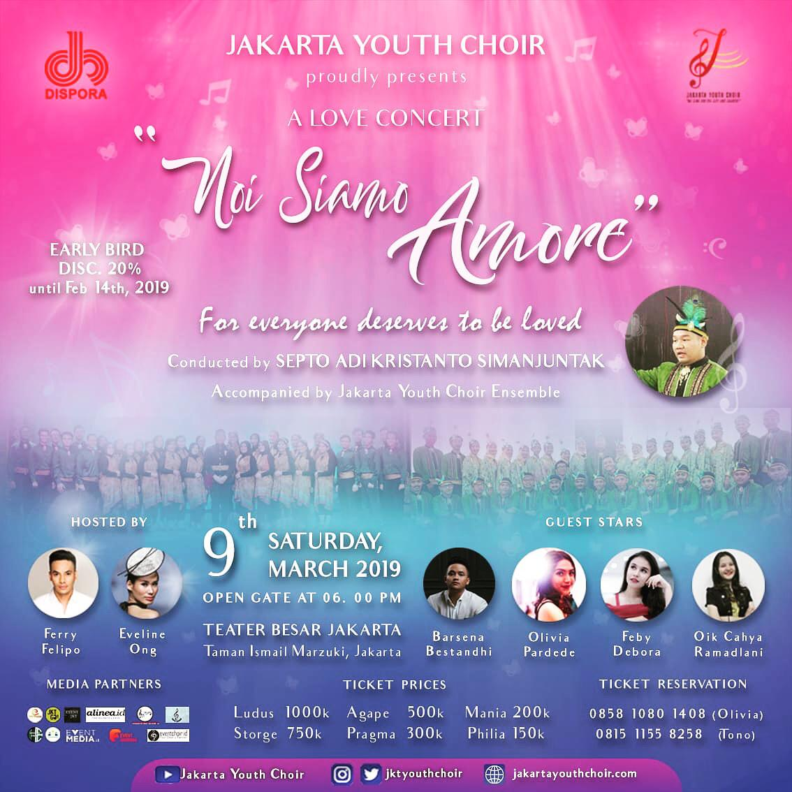 The Love Concert by Jakarta Youth Choir