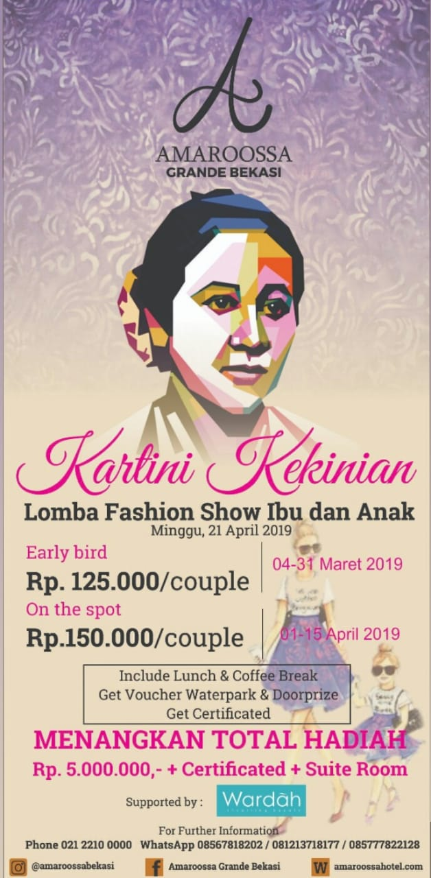 """ Kartini Kekinian "" Supported by Wardah"