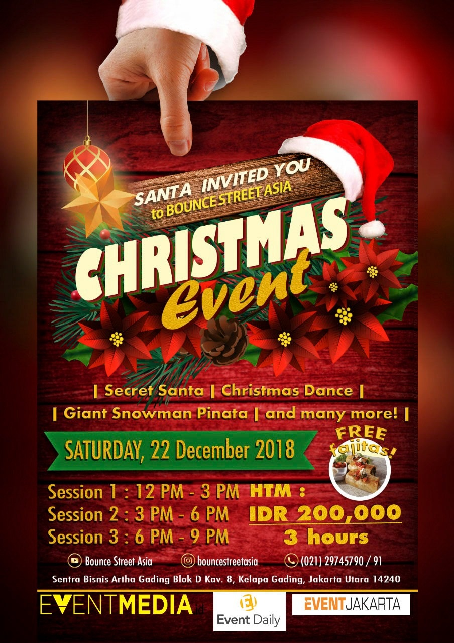 Bounce Street Asia Christmas Event