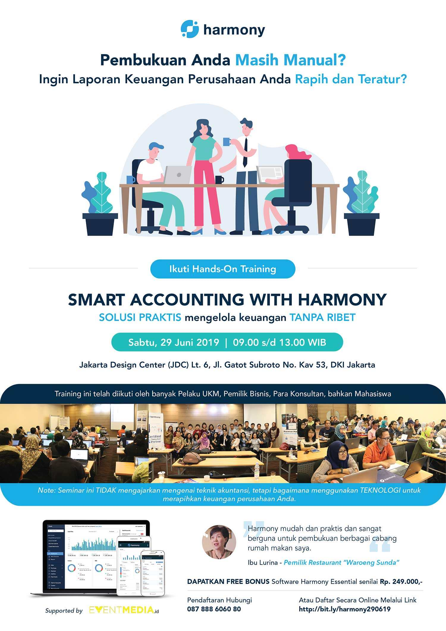 Smart Accounting With Harmony Juni 2019