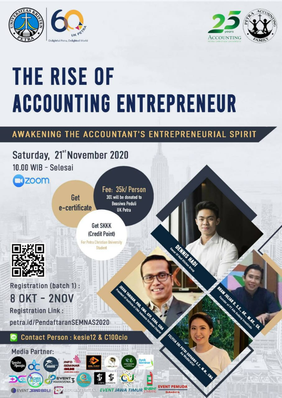 Seminar Nasional The Rise Of Accounting Entrepreneur (TRAE) 2020 image 1