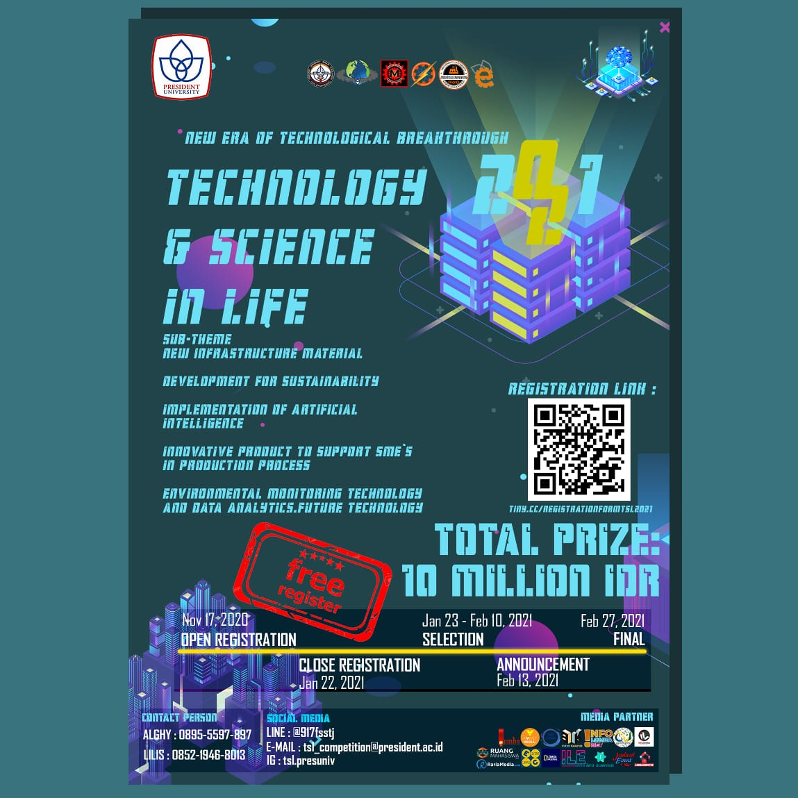 Technology and Science in Life 2021