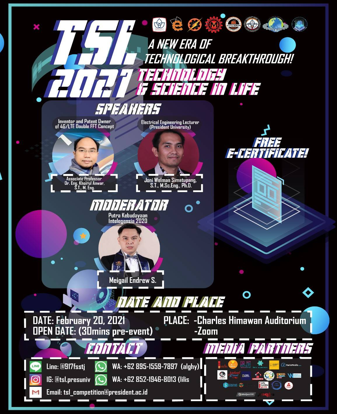 Webinar Technology and Science in Life 2021